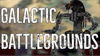 Strategia w Gwiezdnych wojnach - GALACTIC BATTLEGROUNDS [Retro Wars]