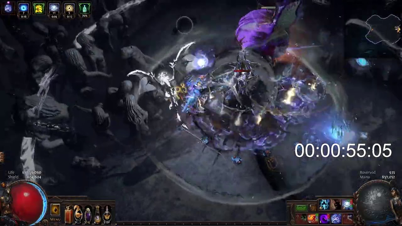 【SHAPED DPS Winter Orb】vs Uber Elder 3.11 (Get ready for the Strongest WO in game) - coming soon