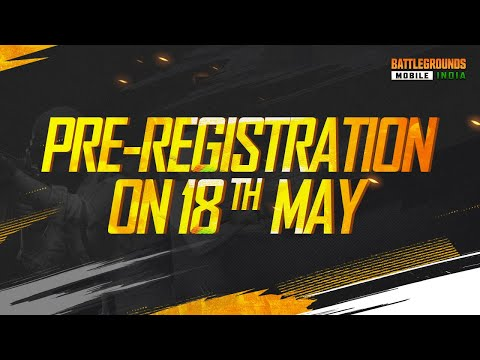 BATTLEGROUNDS MOBILE INDIA - Pre-Registrations Date Reveal