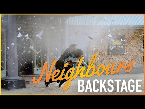 Neighbours Backstage  The Explosion