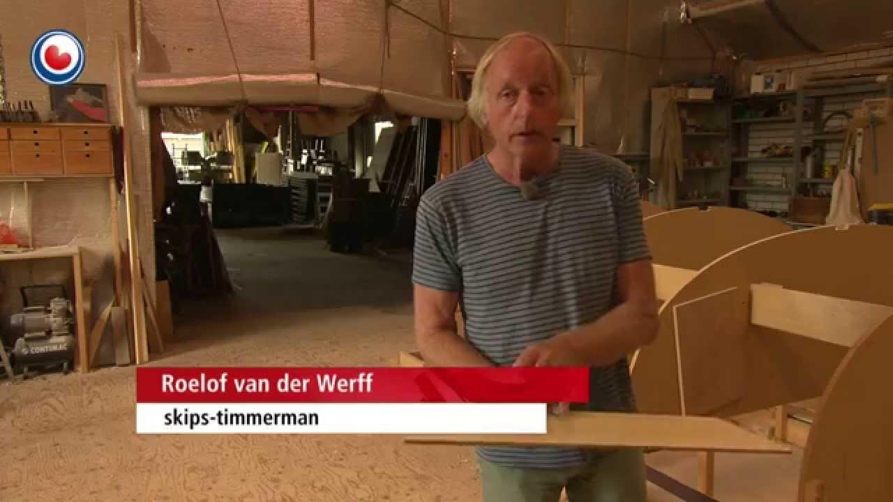 Grote Houten Boot.Eerste Onderhoudsarme Houten Boot Van Friese Bouwer Youtube