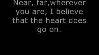 Titanic My heart will go on Celiene Deion (lyrics) (letra) download Karaoke