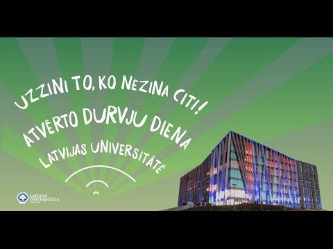 Latvijas Universitātes Atvērto durvju diena