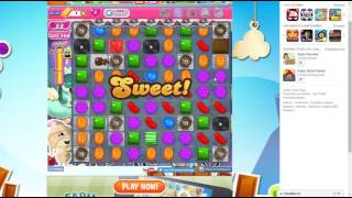 candy crush saga level 1411 no booster 3 star 456 k pts