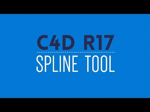 Cinema 4D R17: Spline Tool