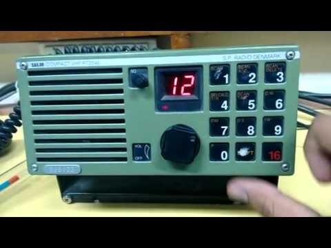 GMDSS VHF