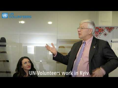 International Volunteer Day 2017 with UN RC in Ukraine