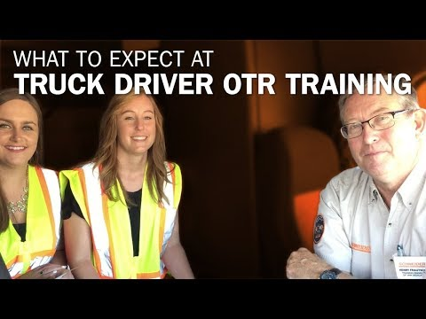 What To Expect At Truck Driver OTR Training
