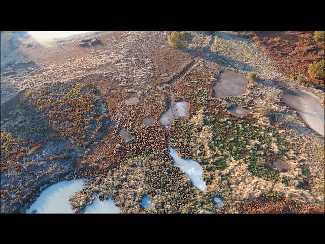 Campagna Romana - Laghetti solfatare - Pomezia - Santa Palomba - Lazio Videoricognizione con drone