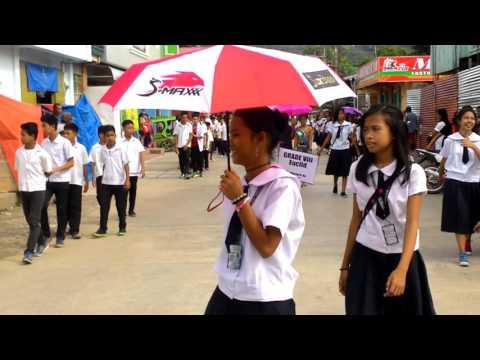 CNHS Parade 2016 ( Cajidiocan )