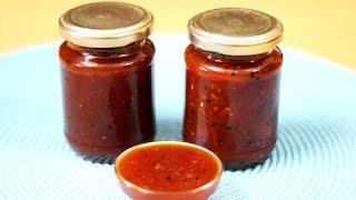 Tomato Sweet Chutney Recipe - Tomato Sweet Pickle - How To Make Tomato Sweet Chutney Recipe