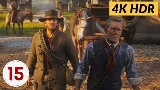 Preaching Forgiveness As He Went. Ep.15 - Red Dead Redemption 2 [4K HDR]