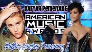 INILAH DAFTAR LENGKAP PEMENANG AMERICAN MUSIC AWARDS 2016 ( AMA 2016 )