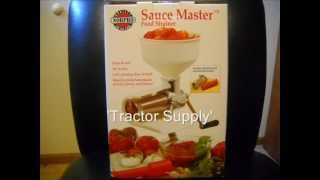 Norpro Sauce Master Review...