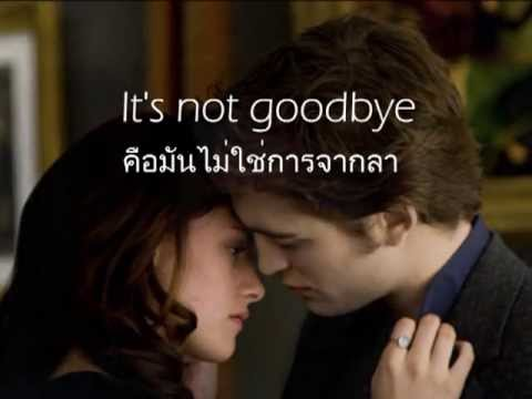 เพลงสากลแปลไทย It's Not Goodbye - Laura Pausini (Lyrics & ThaiSub)