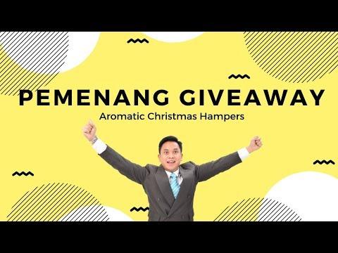pemenang giveaway Christmas hampers  1