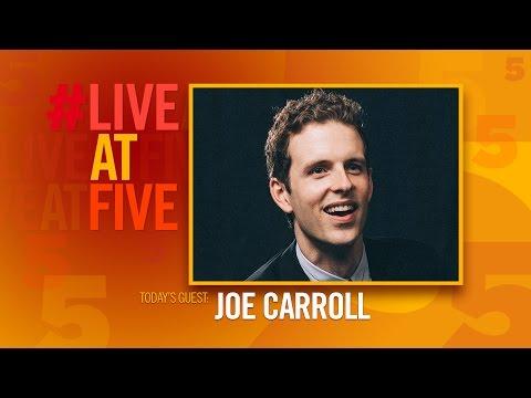 Broadway.com LiveatFive with Joe Carroll of BANDSTAND