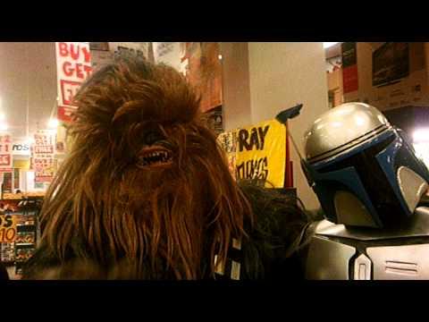 Star Wars BluRay JB HiFi 17/09 SupaCenter Sydney Raw Film 18