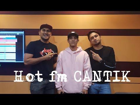 Sharul Kamal Berada Di Konti [Hot Fm] Mempromosikan Lagu CANTIK