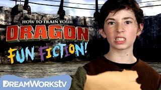 Snaptrapped! with Fishlegs and Meatlug l HOW TO TRAIN YOUR DRAGON: FUN FICTION