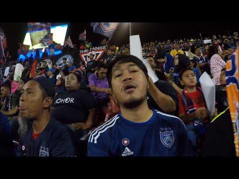 VLOG #24 : Johor Darul Ta'zim Fc vs Kelantan Fc di Stadium Larkin Liga Super 2017