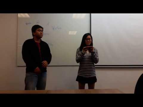 Student presentations Professor Sean Watts RMIT Vietnam - 20151120 092347