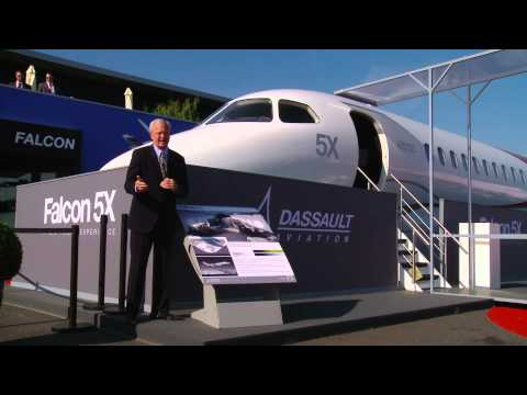 Business Jets At The Paris Air Show