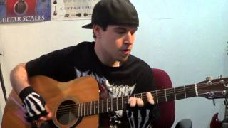 avenged sevenfold seize the day acousticvocal cover
