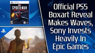 Sony Reveals  Ps5 Boxart & It Makes Waves, Infamous Domain Renewed, Sony Invests In Epic
