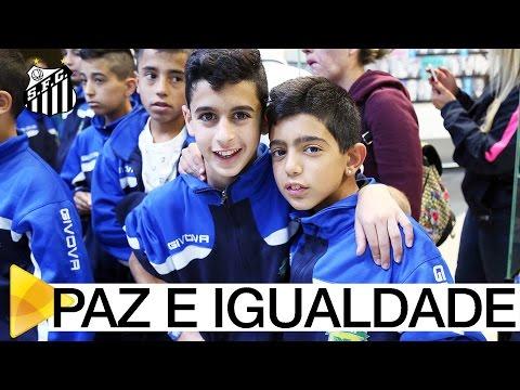 Crianças judias e árabes conhecem o Santos FC | #MUITOALÉMDOFUTEBOL