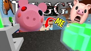 ROBLOX PIGGY CHAPTER 5, BUT I'M TINY..