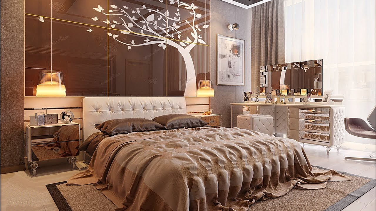 Latest Bedroom Design Prepossessing Bedroom Design  Modern Bedroom Ideas  Latest Bed Designs  Youtube Design Ideas