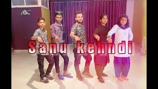 Sanu kendi [Dance choreography by] Step-up Dance Academy Dhar