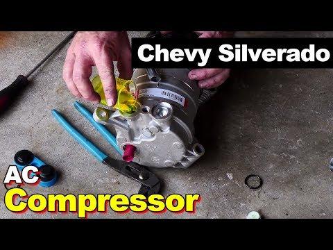2000 Chevy Silverado AC Compressor - YouTube