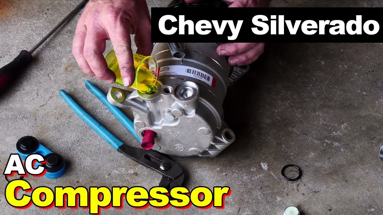 medium resolution of 2000 chevy silverado ac compressor
