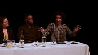 Adjoa Talking on Panel