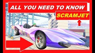 GTA 5 Online , NEW Supercar SCRAMJET TEST , best weaponized vehicles , fastest Supercars