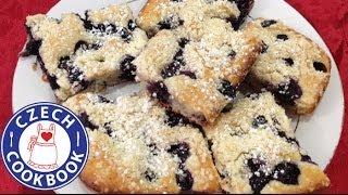 Blueberry Crumb Cake Recipe -  Ovocný Táč - Czech Cookbook