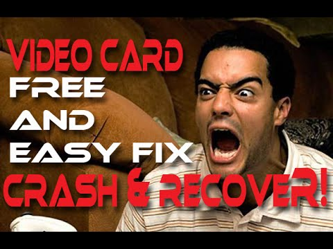HOW TO FIX - Video Driver has Crashed!
