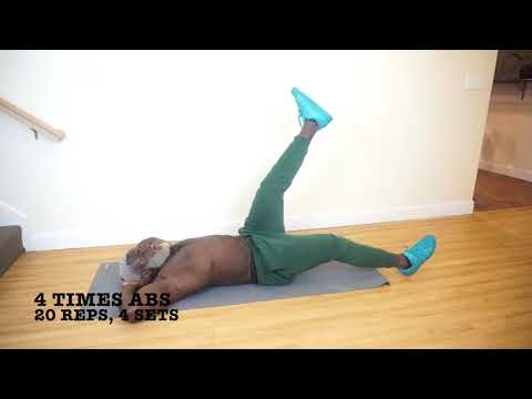 HIIT & Abs Workout. (Intermediate Level Day 39)