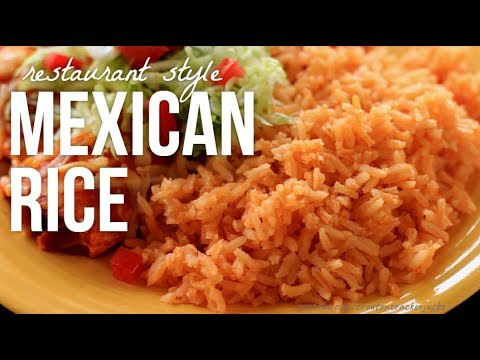 Restaurant Style Mexican Rice 2018