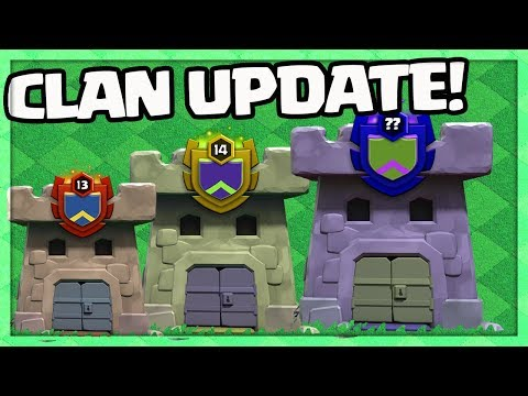 CLAN UPDATE! Clash of Clans Clan IMPROVEMENTS Update Sneak Peek!