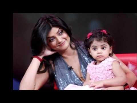 Actress Sushmita Sen Family Unseen Video