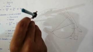 Make Spur gear teeth ||very easy || engineering mechanical drawing || POLYDESKUP