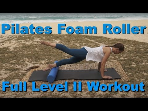 Upside-Down Pilates - Level II Foam Roller Full 1 Hour Workout