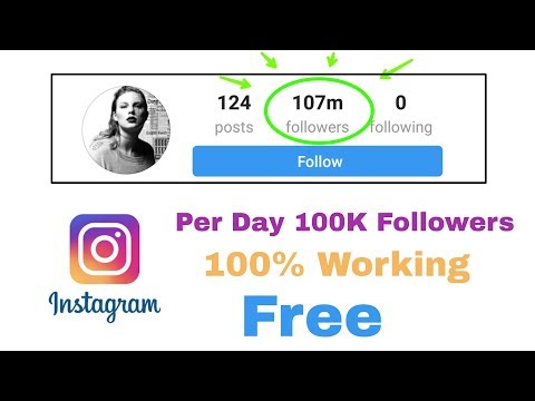 how to increase Instagram followers 100% real trust me