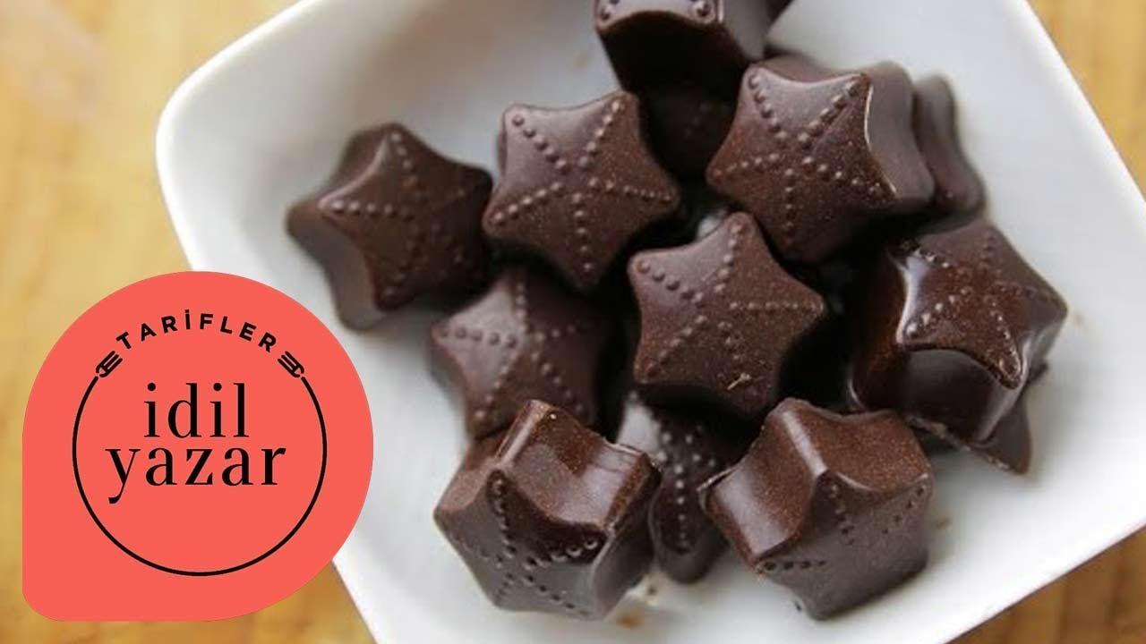 Şekersiz Ev Çikolatası Nasıl Yapılır