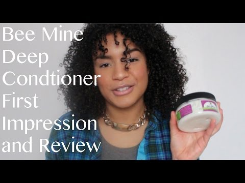 Bee Mine Bee-U-Ti-Ful Deep Conditioner First Impression And Review | BrittneeLovesBeauty