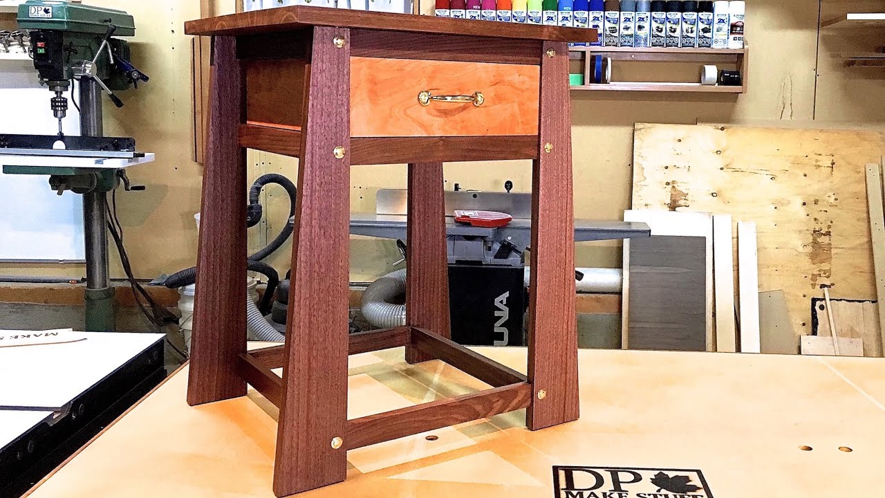 Make It   Secret Compartment Table For My Nines   YouTube