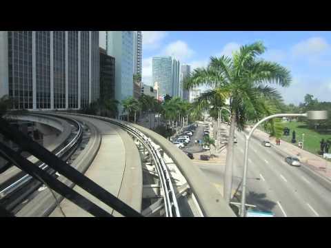 Metromover Downtown Miami